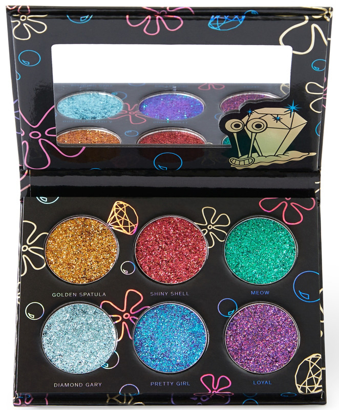 Hipdot x SpongeBob All the Glitters Palette