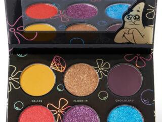 Hipdot x SpongeBob Imaginaaation Mini Pressed Glitter and Pigment Palette