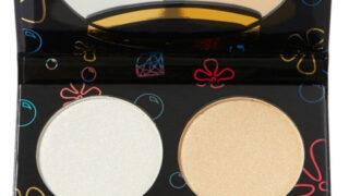 Hipdot x SpongeBob Sandy Cheeks 4 Shade Highlighter Palette