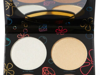 Hipdot x SpongeBob Sandy Cheeks 4 Shade Highlighter Palette