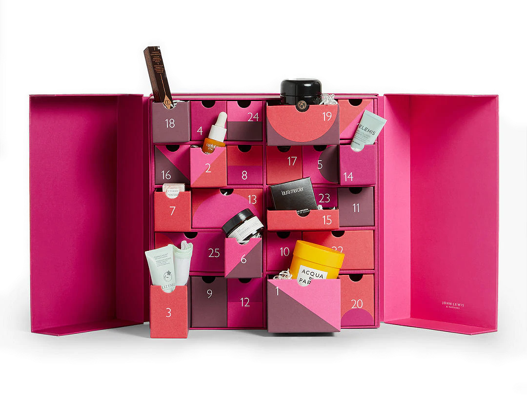 John Lewis & Partners Beauty Advent Calendar 2020