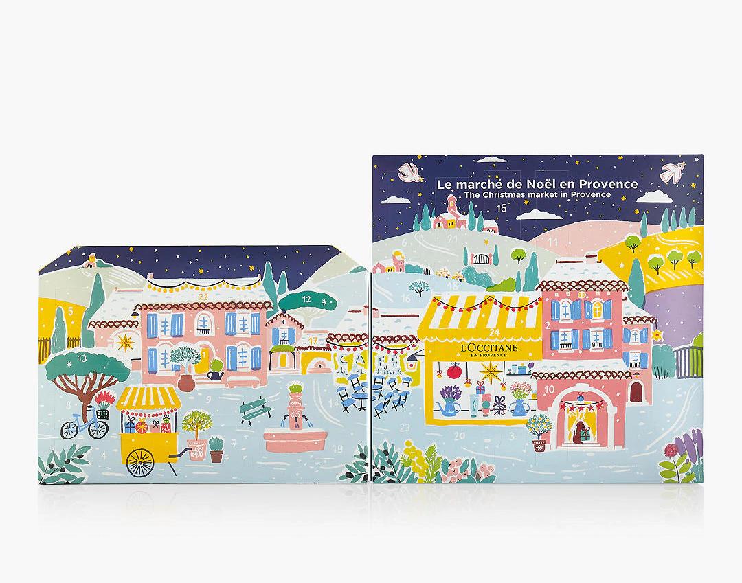 Marche De Noel En Provence L'Occitane Le Marche de Noël en Provence Advent Calendar 2020