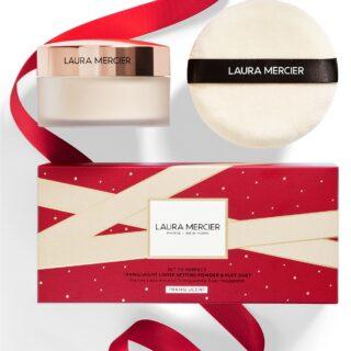 Laura Mercier Set To Perfect Setting Powder Set Holiday 2020