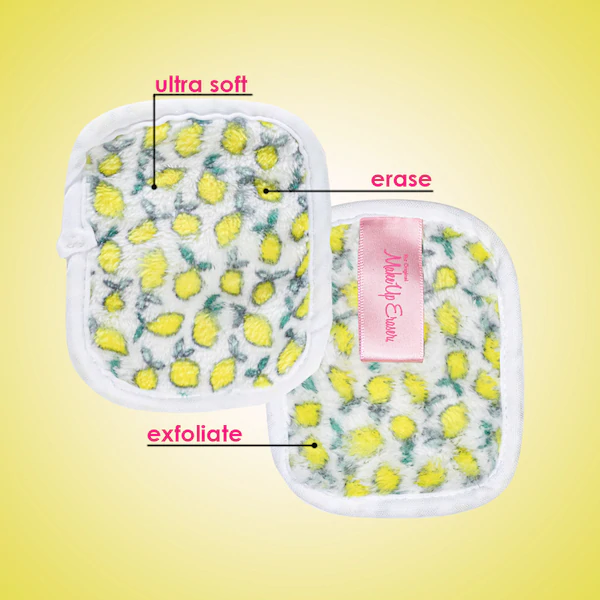 Makeup Eraser Lemon 7 Piece MakeUp Eraser Remover Set