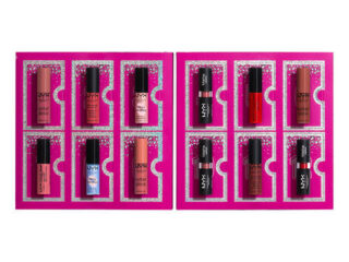 NYX Diamonds & Ice Please 12 Day Lipstick Countdown Advent Calendar 2020 Contents Reveal