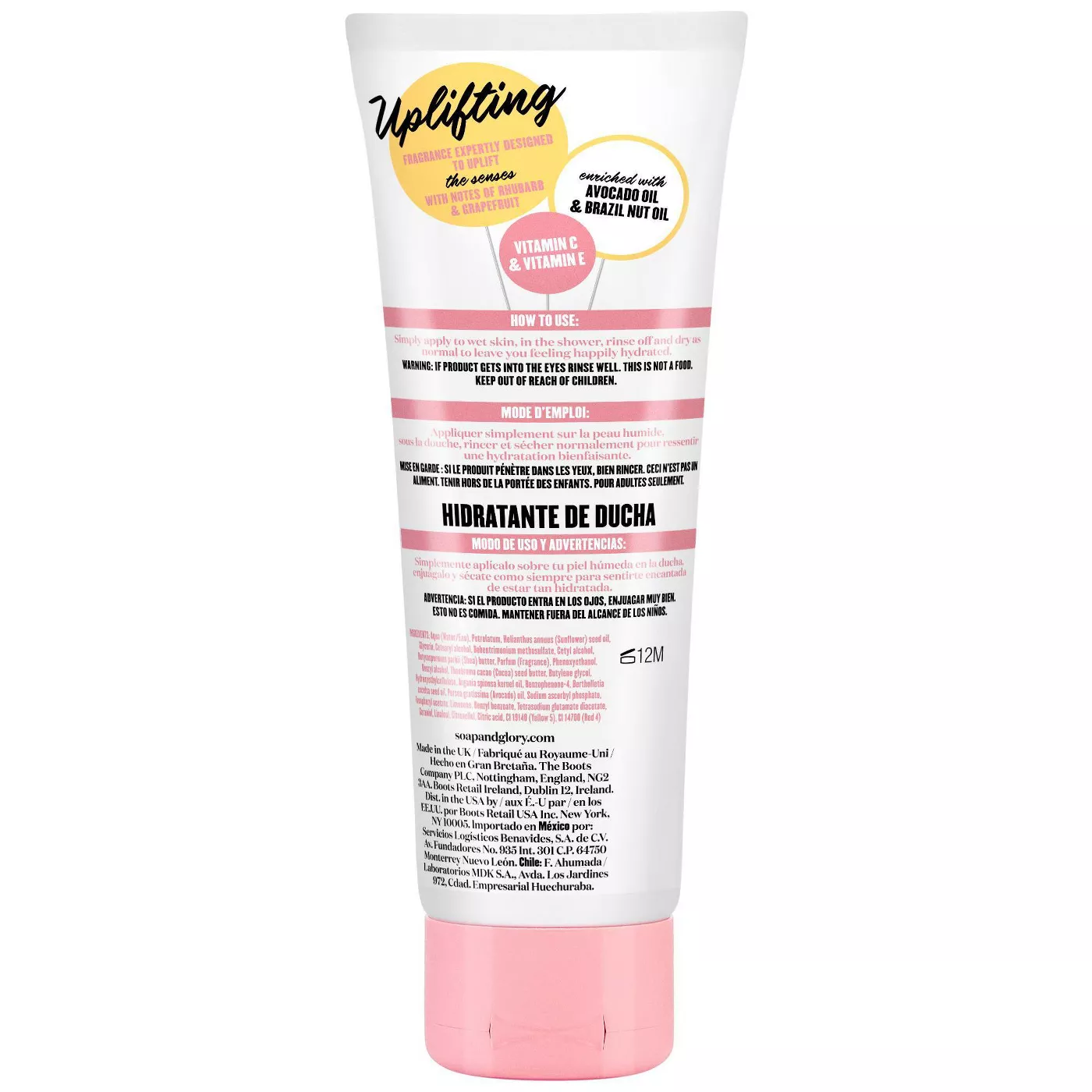 Soap & Glory All The Right Smoothes In-Shower Moisturiser