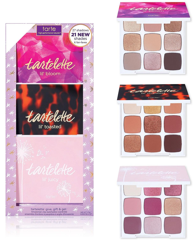 Tarte Christmas Palette 2020 Tarte Tartelette Give Gift & Get Amazonian Clay Eyeshadow Set