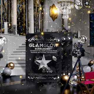 GLAMGLOW Pre-Party Prep Deep Cleanse Bubblesheet Mask Trio
