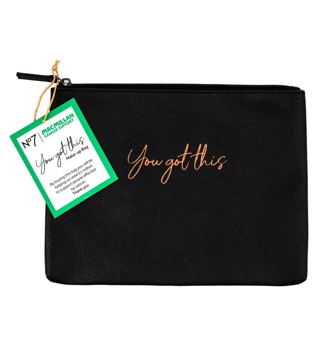 No7 x Macmillan You Got This Makeup Bag