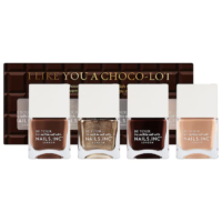 Nails Inc I Like You a Choco-Lot Nail Polish Quad Set