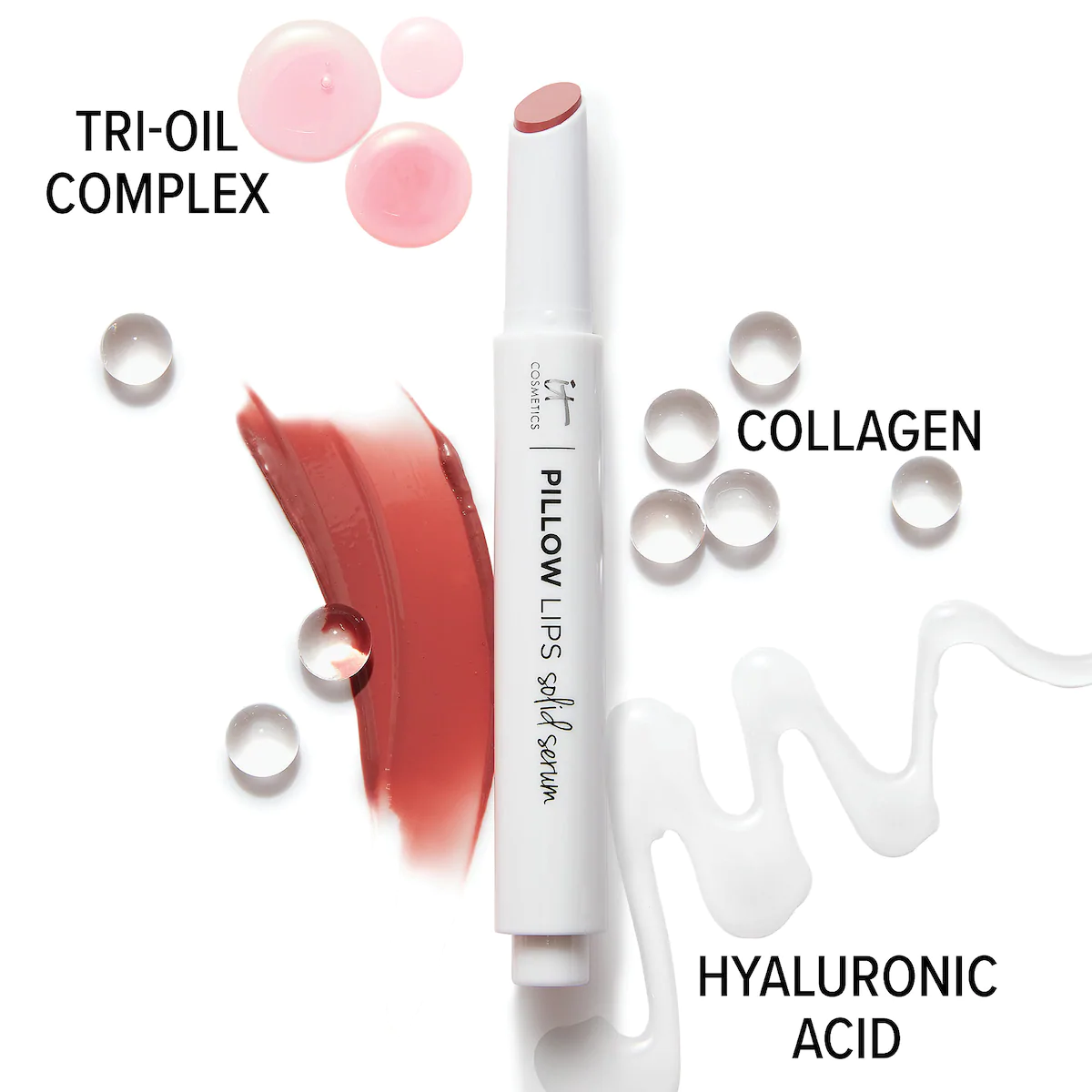 IT Cosmetics Pillow Lips Solid Serum Tinted Lip Gloss