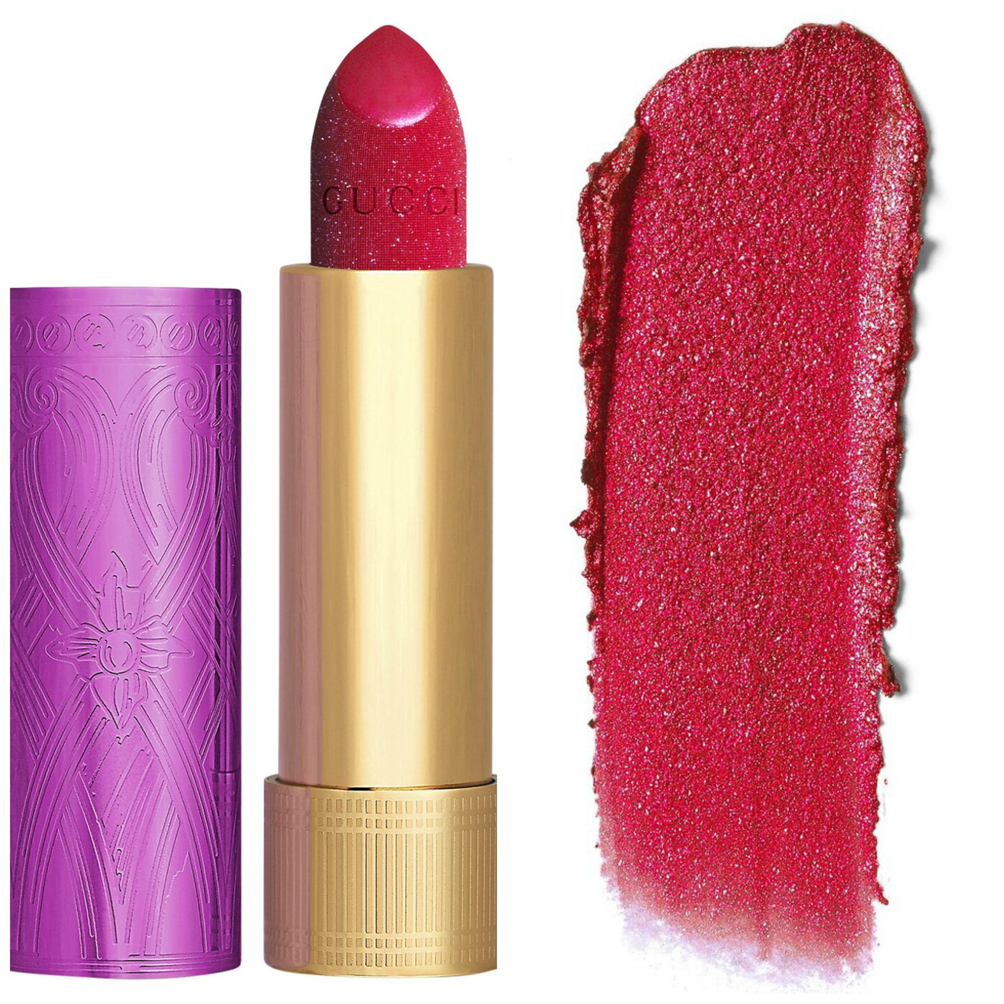 Gucci Rouge à Lèvres Lunaison Glitter Lipstick Collection