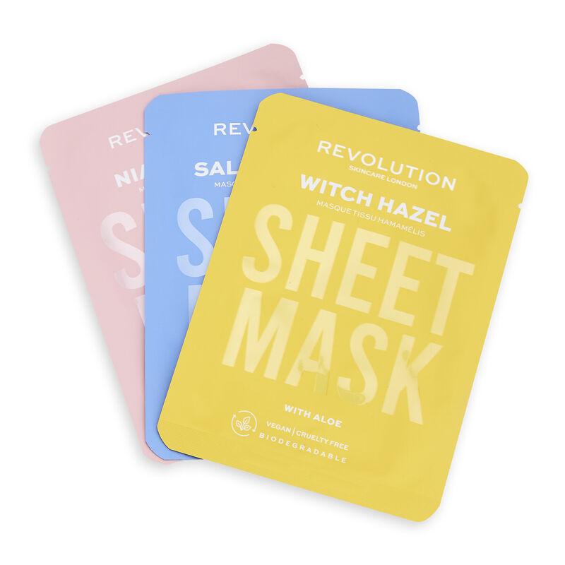 Revolution Skincare Launches Sheet Masks!