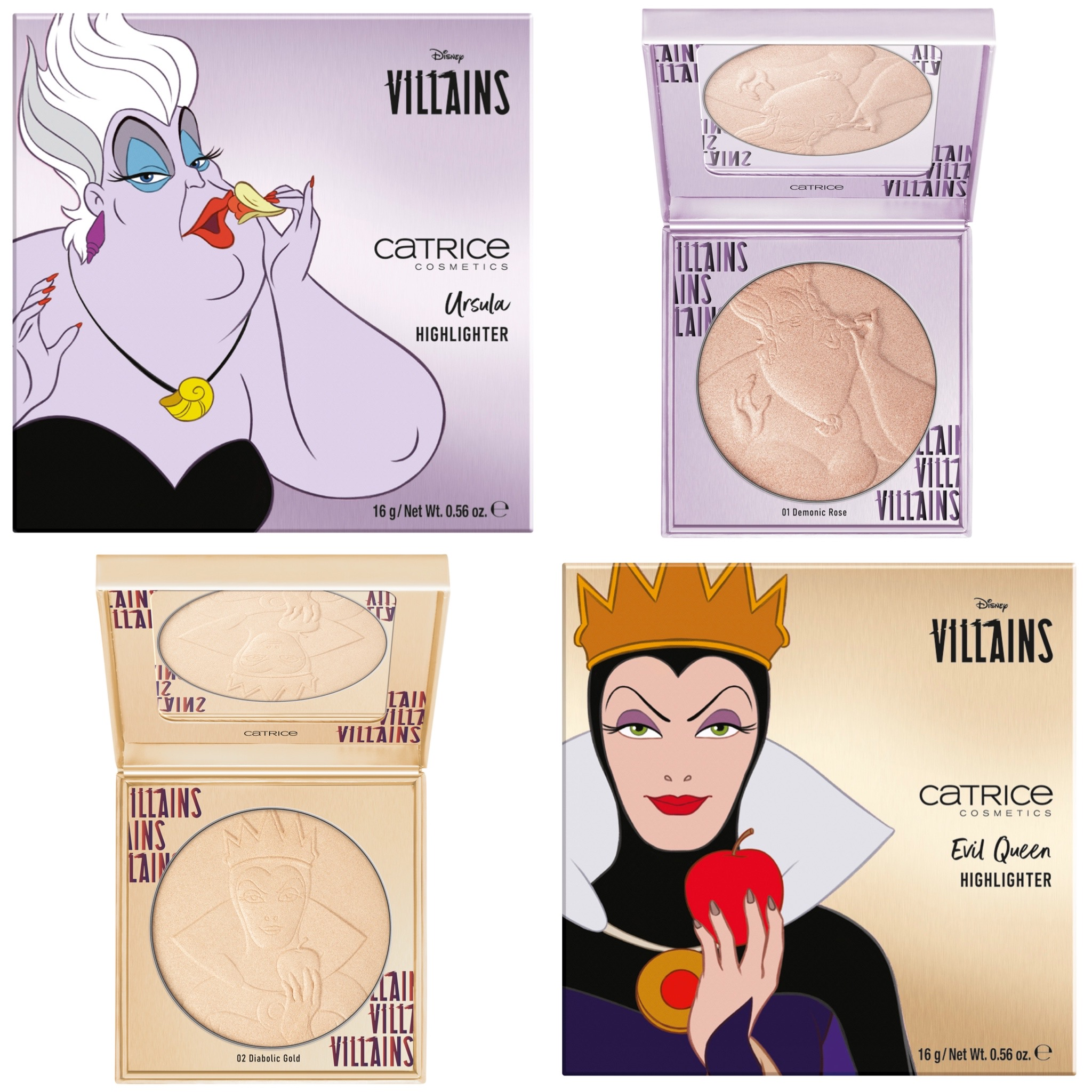 Catrice x Disney Villains Collection