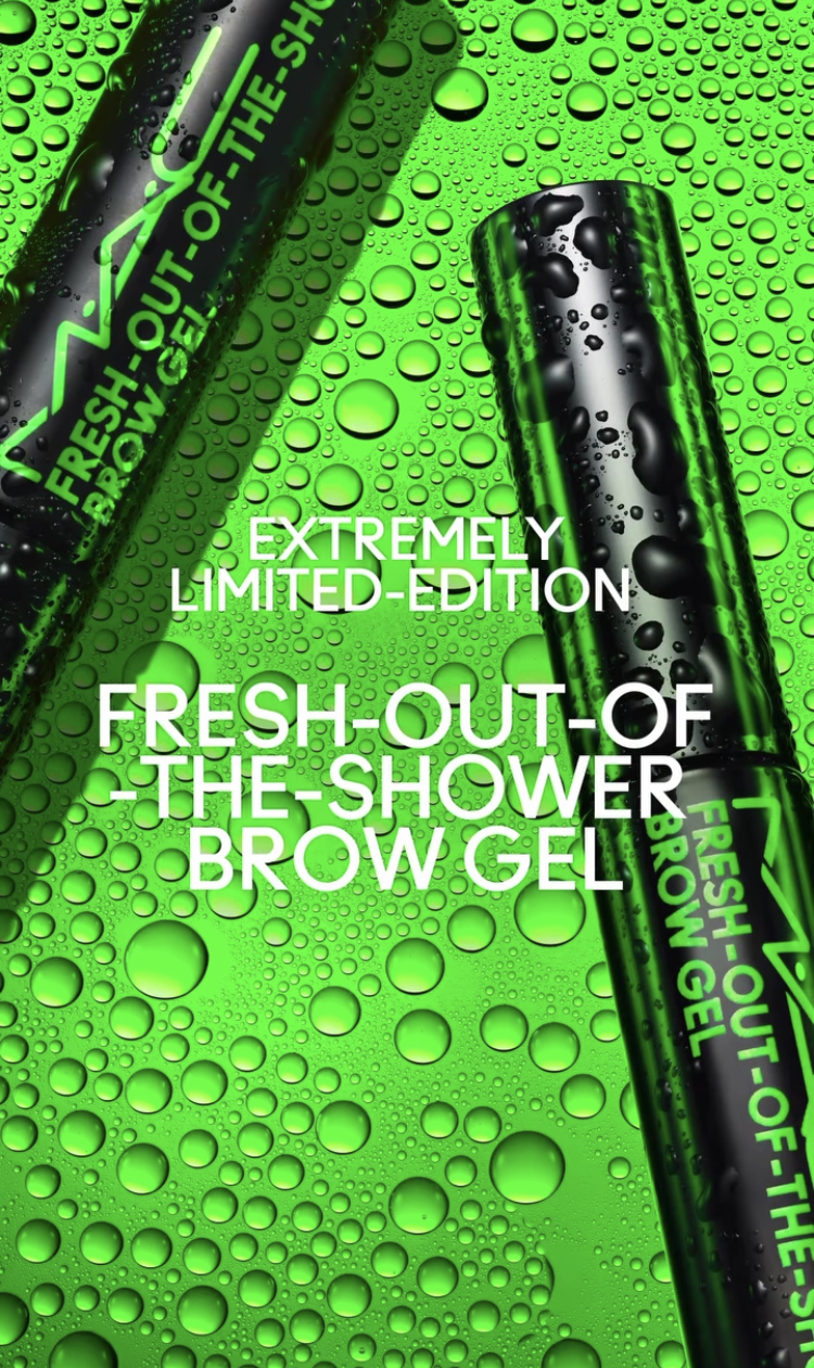 MAC Underground Fresh Out Of The Shower Brow Gel