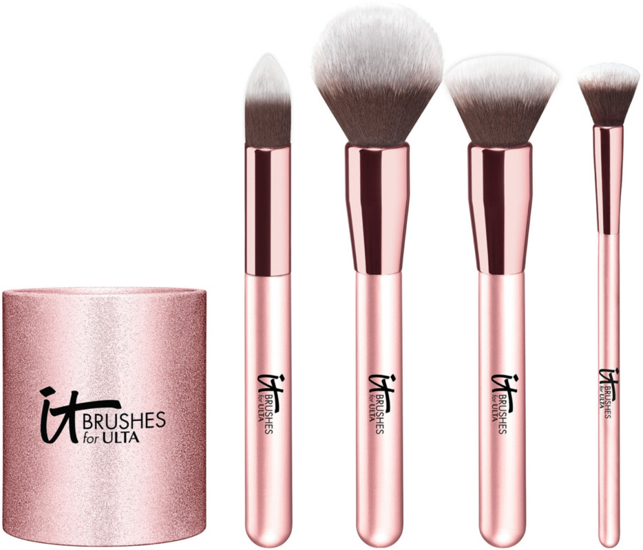 IT Brushes For Ulta Rose Gold Complexion Brush Set