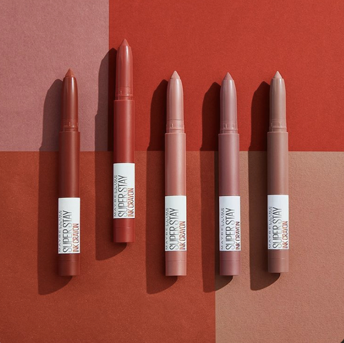 Maybelline Spiced Edition SuperStay Ink Crayon Collection