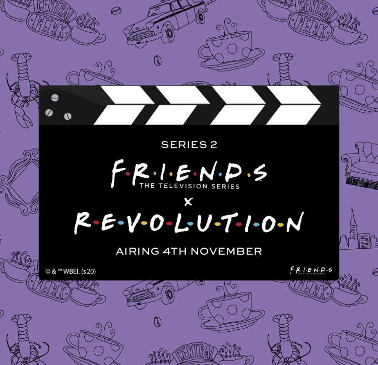 Revolution Friends Series 2 Collection