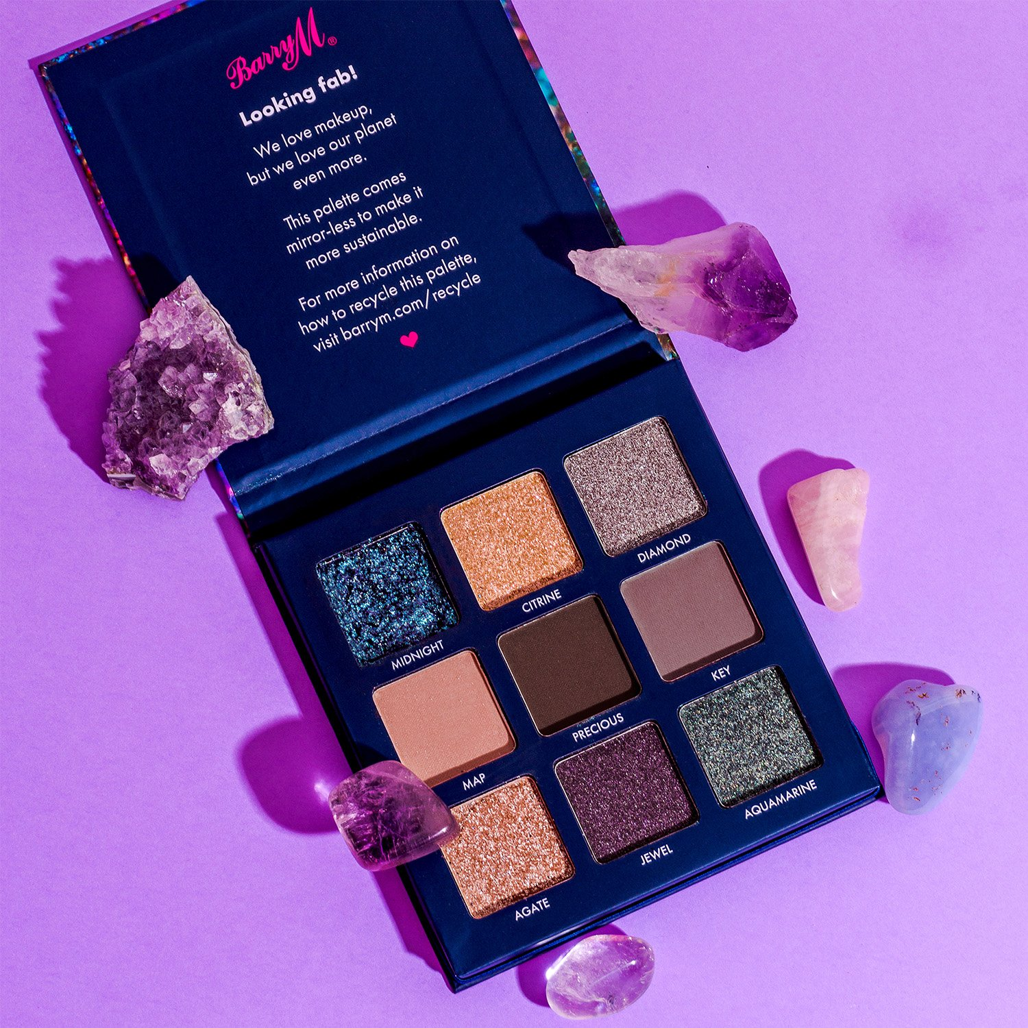 Barry M Lost Treasure Eyeshadow Palette