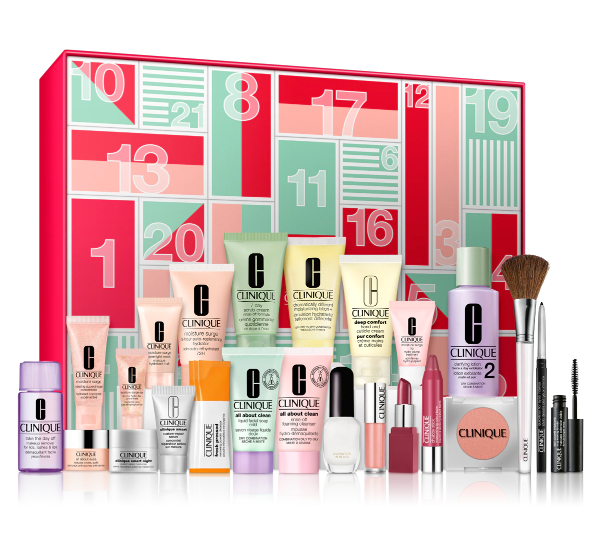 Clinique 24 Days of Clinique Advent Calendar 2020 Contents Reveal! AVAILABLE NOW!