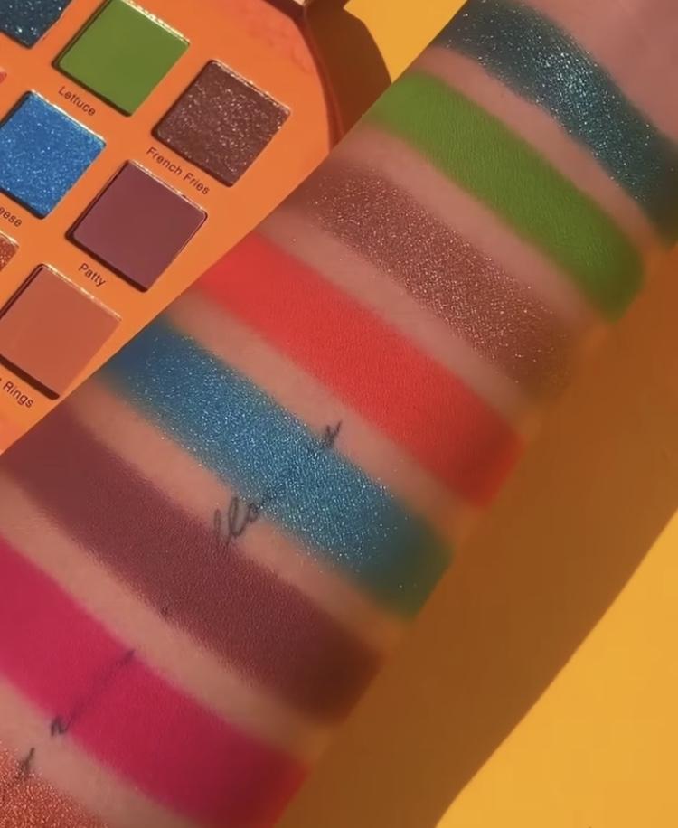 Glamlite Burger Slider Palette