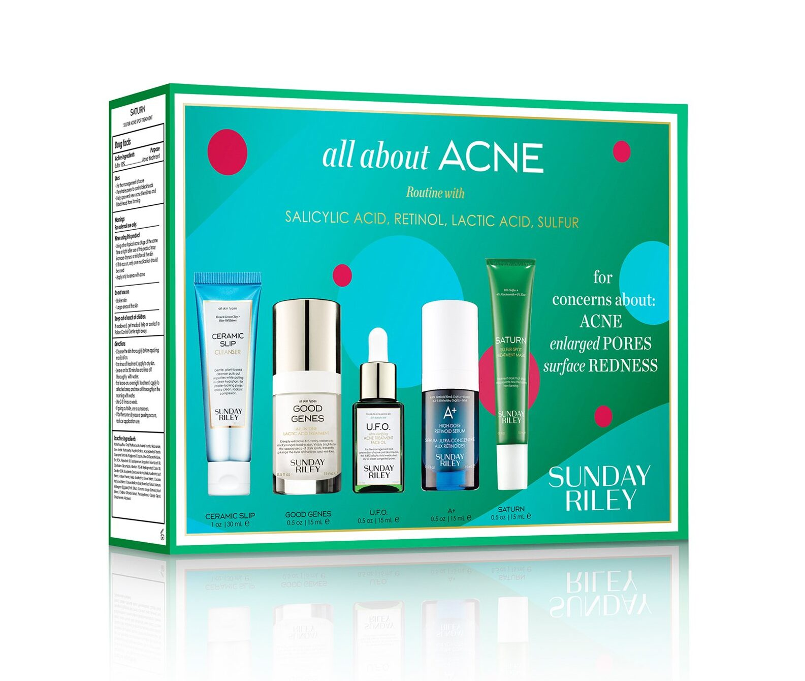 Sunday Riley All About Acne Kit