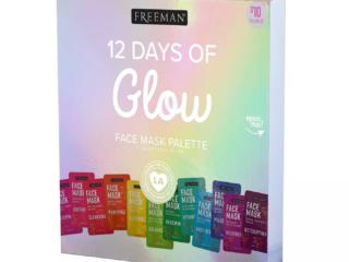 Freeman 12 Days of Glow Face Mask Advent Calendar 2020