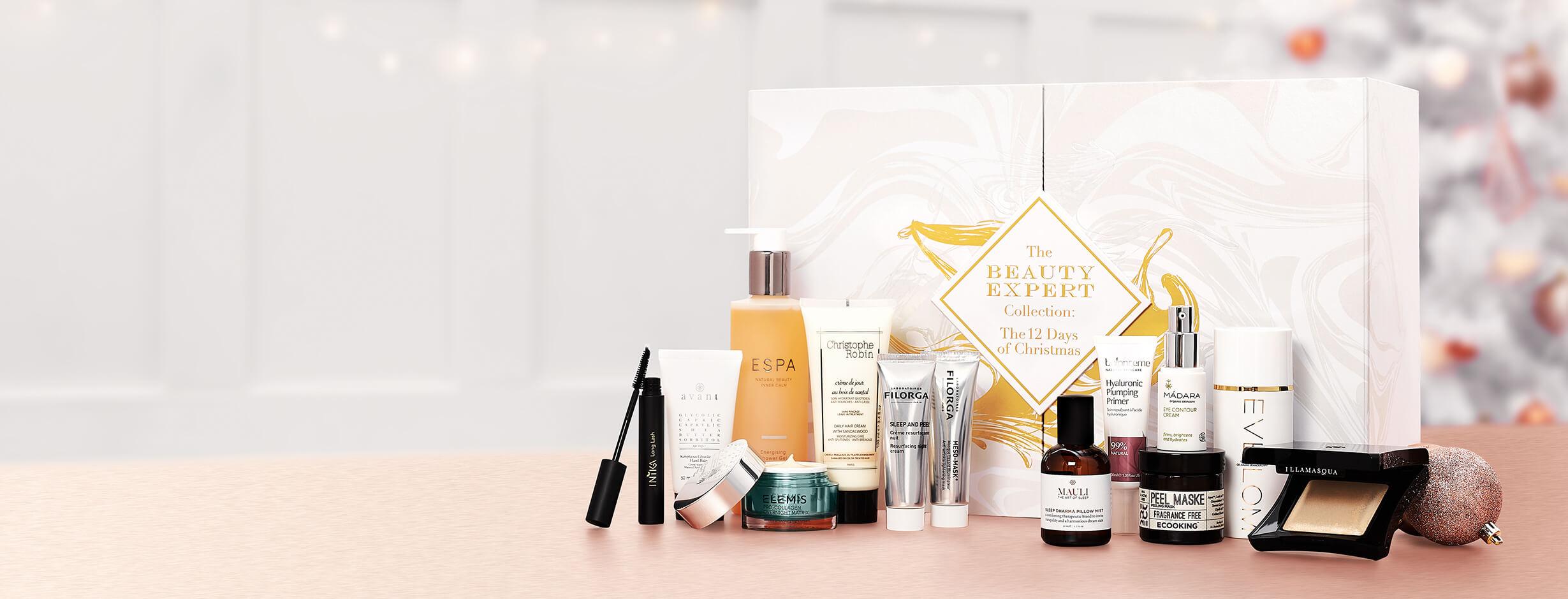 Beauty Expert 12 Days of Christmas Advent Calendar 2020 Contents Reveal!