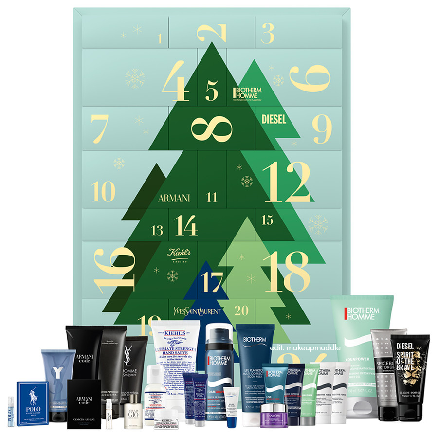 L'Oreal Luxe Brands Men's Beauty Advent Calendar 2020 Contents Reveal!