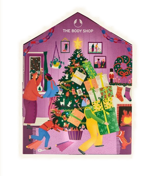 The Body Shop Make It Real Together Advent Calendar 2020