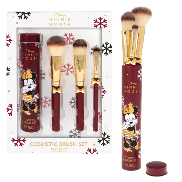 Mad Beauty Disney Minnie Mouse Makeup Brush Set