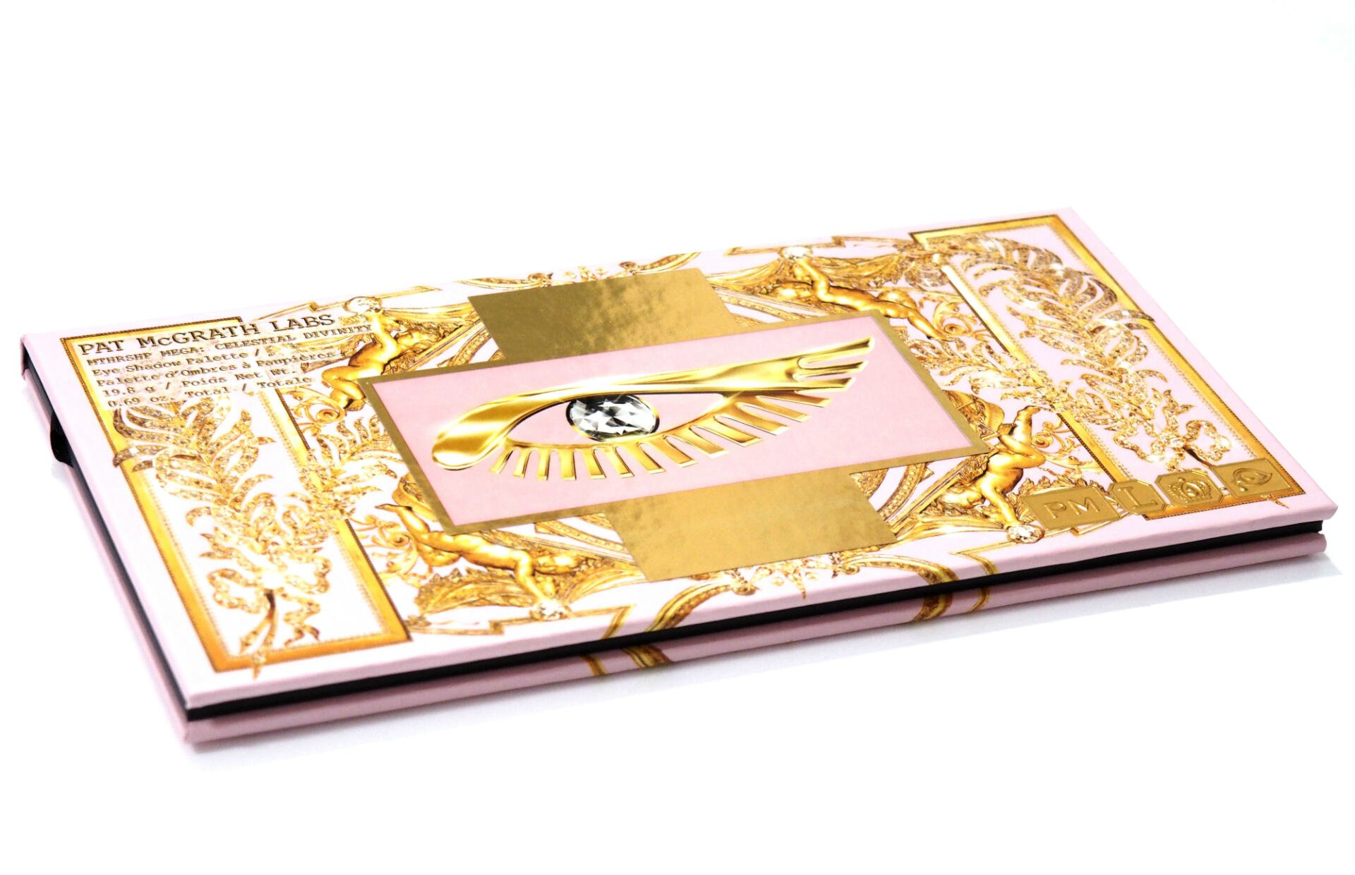 Pat McGrath Mthrship Mega Celestial Divinity Eyeshadow Palette Review / Swatches