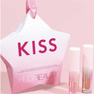 Huda Beauty Kiss Holiday Silk Balm Duo Set