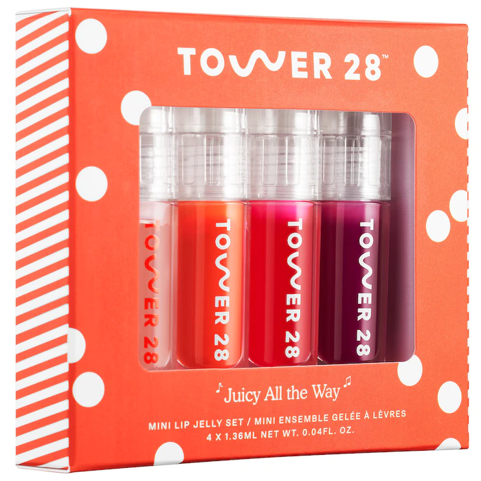 Tower 28 Juicy All The Way Lip Jelly Set