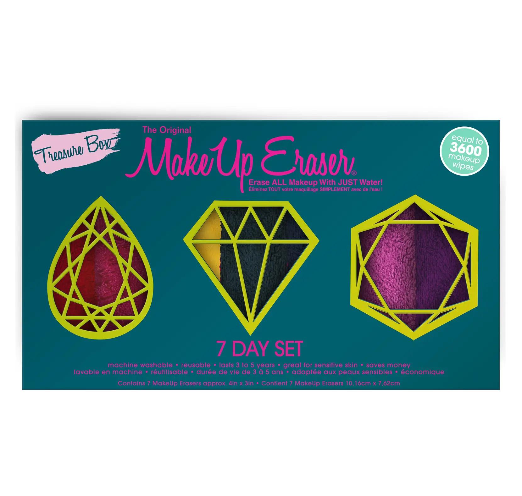 Makeup Eraser Treasure Box 7 Day Set