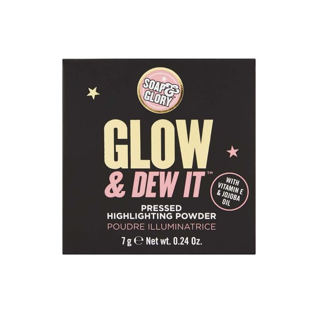 Soap & Glory Glow and Dew It Pressed Highlighting Powder