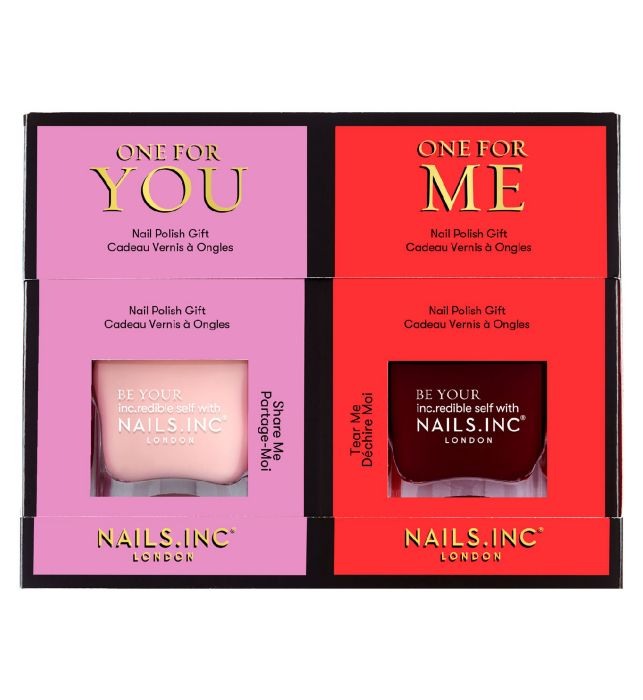 Nails Inc One For You One For Me Duo