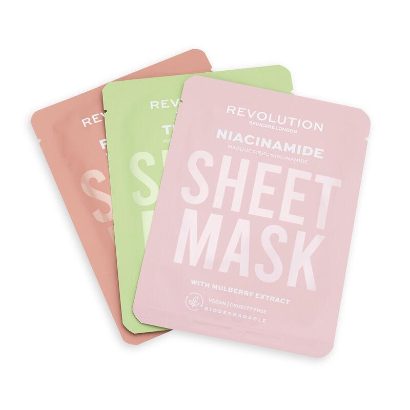 Revolution sheet masks