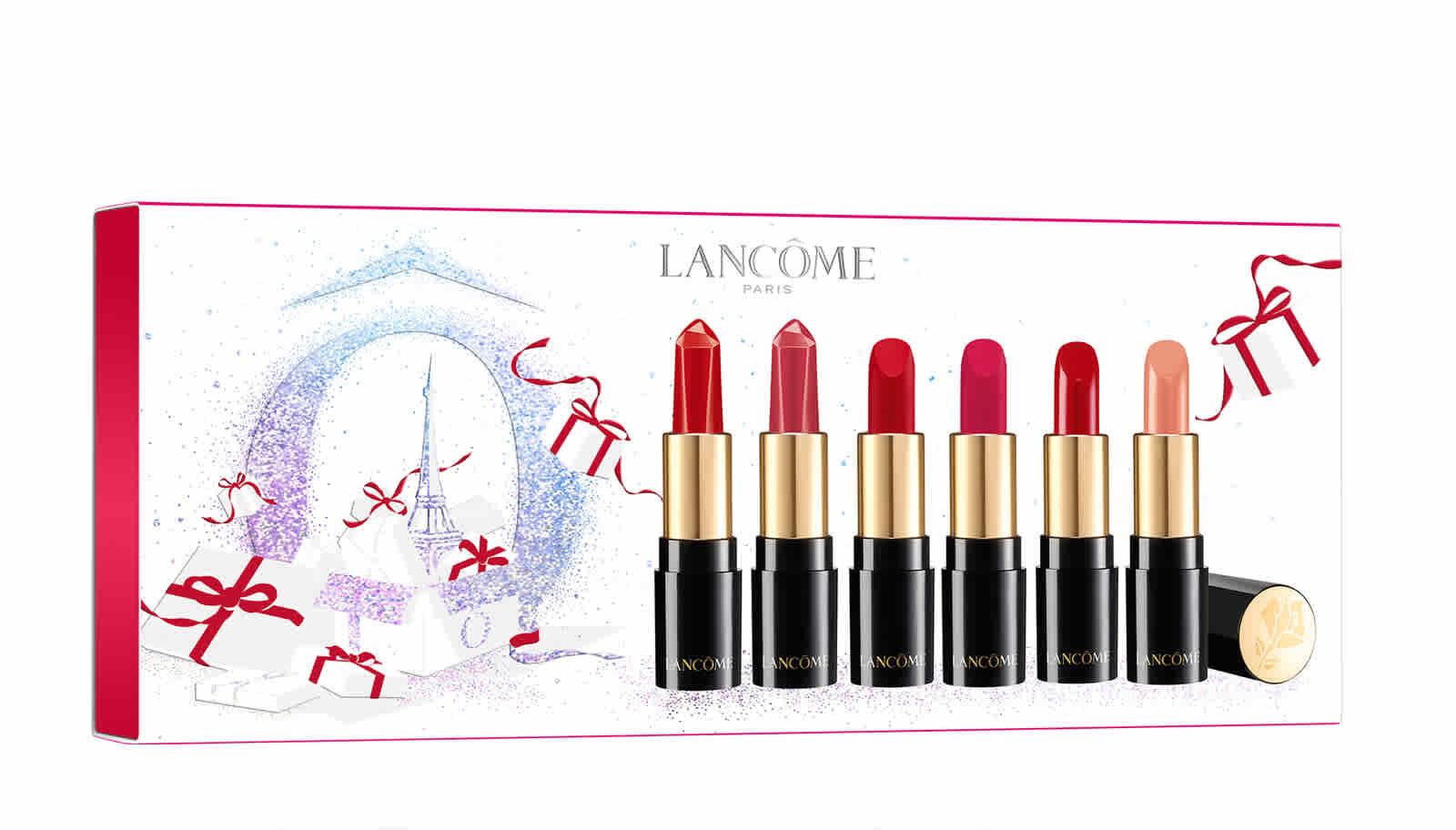 Lancôme L'Absolu Rouge a Levres Lip Love Set