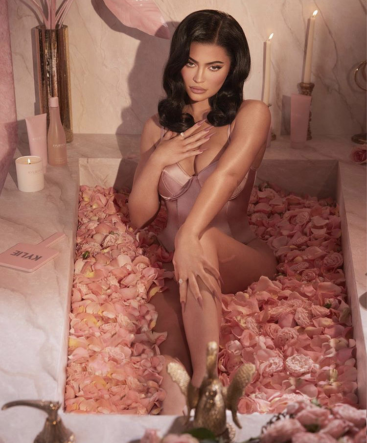 Kylie Skin Rose Bath Collection