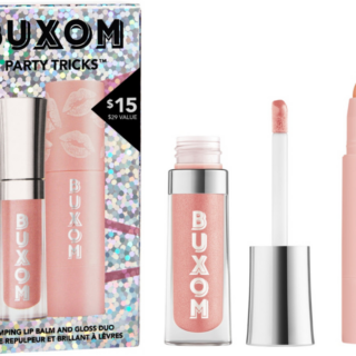 Buxom Party Tricks Plumping Balm and Gloss Duo
