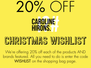 SpaceNK x Caroline Hirons Favourites with 20% Off!