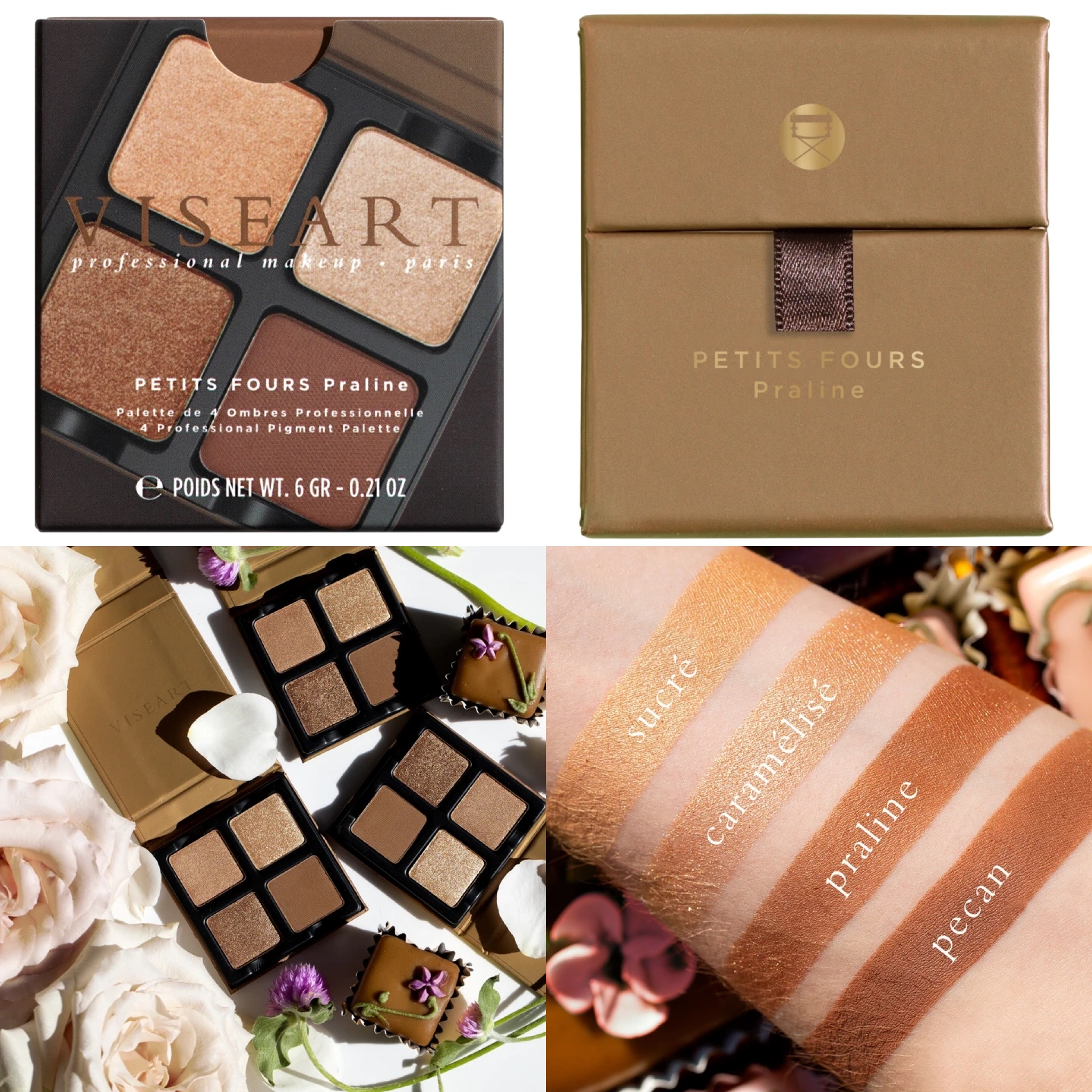 Viseart Petits Fours Eyeshadow Collection 2