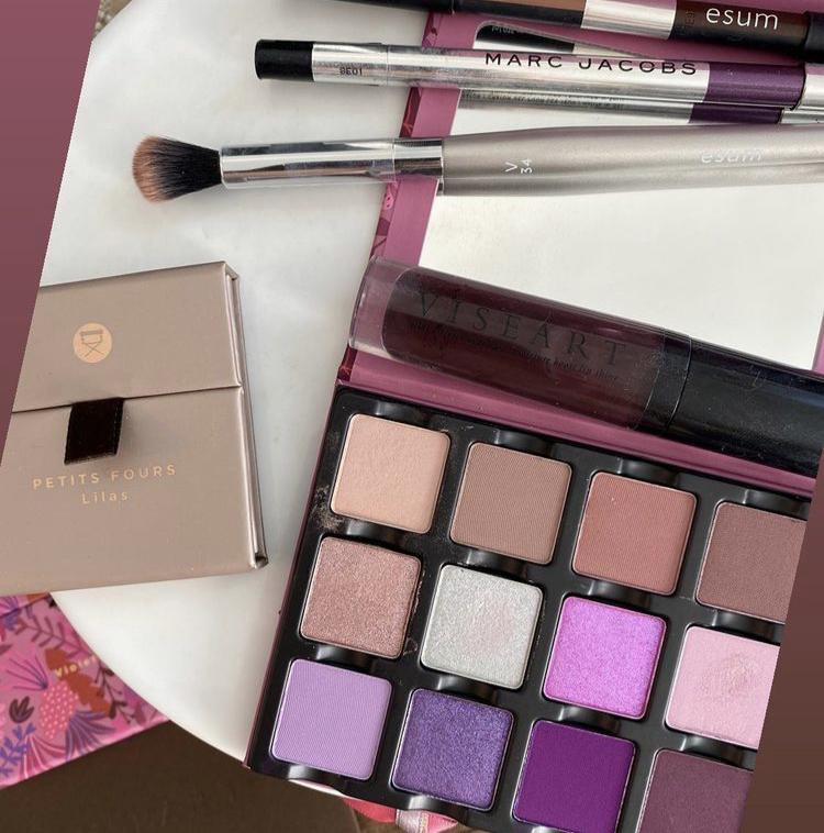 Viseart Violette Eyeshadow Palette