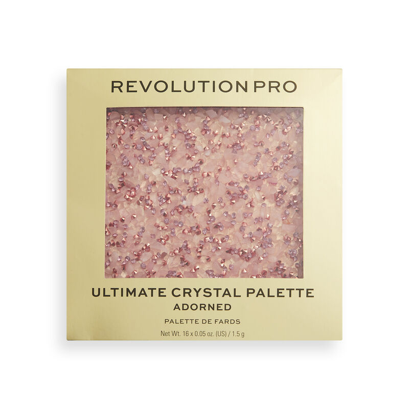 Revolution Pro Ultimate Crystal Adorned Eyeshadow Palette