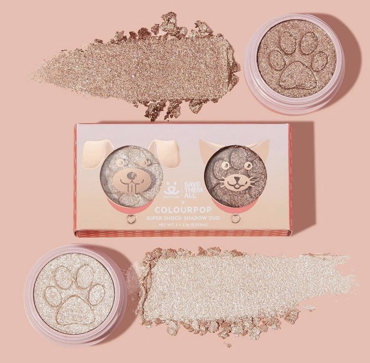 ColourPop x Best Friends Animal Society Furr-riends Forever Super Shock Duo
