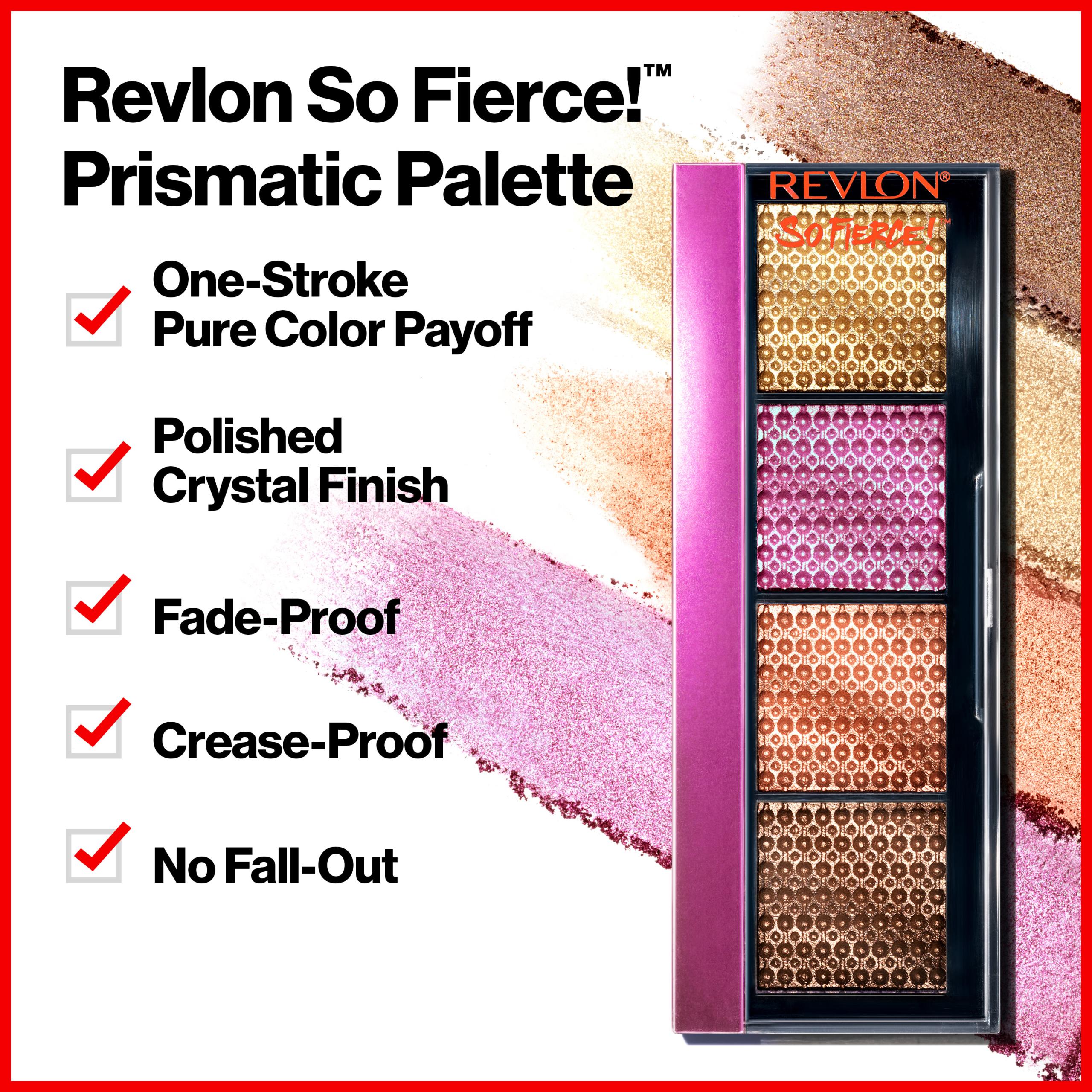 Revlon So Fierce Prismatic Eyeshadow Palettes