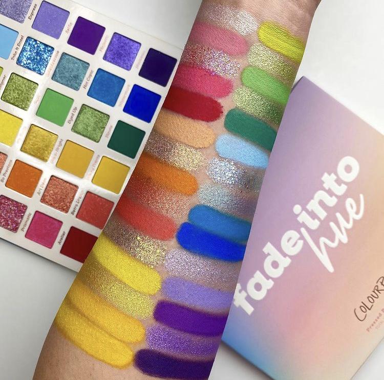 ColourPop Fade Into Hue Shadow Palette