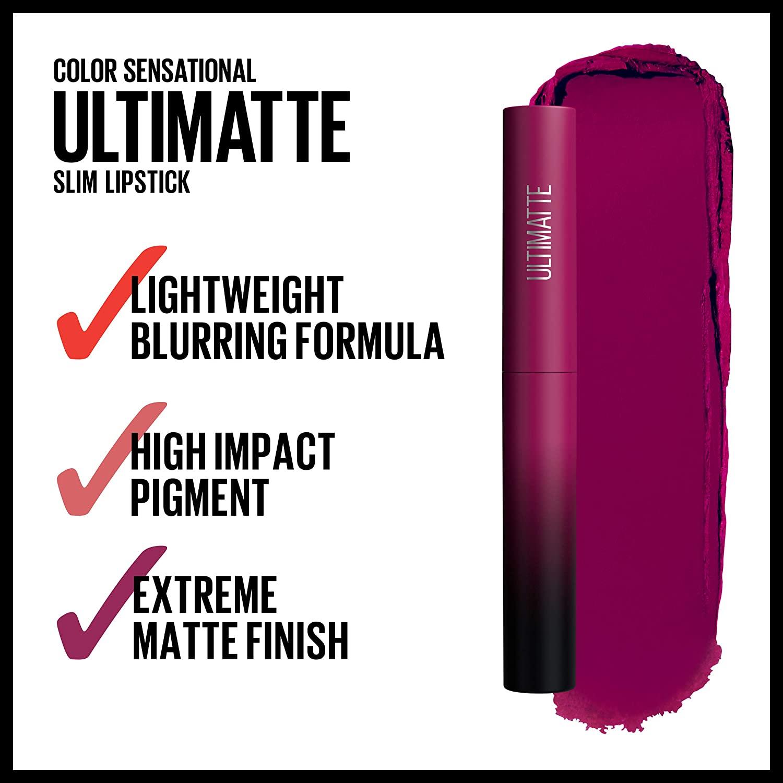 Maybelline Color Sensational Ultimatte Lipstick