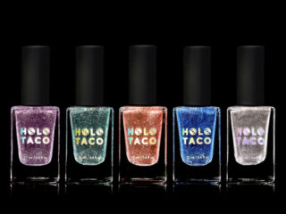 Holo Taco Frosted Metals Holiday Collection